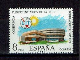 TIMBRE 1973 MNH CONFERENCE DE PLENIPOTENTIAIRE DE L'UIT - Otros