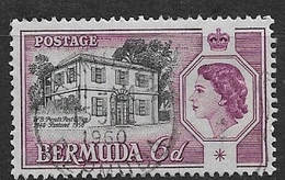 BERMUDA   1959 The Restoration And Reopening Of Perot's Post Office 158 USED SEE CANCELL - Bermuda