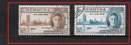 BERMUDA    1946 Victory George VI* - Bermuda