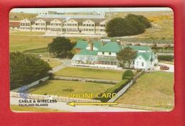 FALKLAND ISLANDS  Phonecard  GPT 161CFKA - Falkland Islands