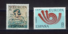SERIE 2 TIMBRES 1973 MNH EUROPE CEPT MOSAIQUE ROMAINE MERIDA - Europa-CEPT