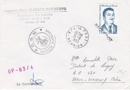 TAAF89 - YT N°99 - Marion Dufresne OP 83/4 - De Le Port (Réunion) Le 31-08-1983 - Cachet Paquebot - Französische Süd- Und Antarktisgebiete (TAAF)
