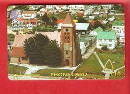 FALKLAND ISLANDS  Phonecard  GPT 195CFKA - Falkland Islands