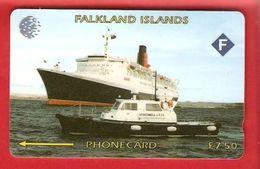 FALKLAND ISLANDS  Phonecard  GPT 3CWFA - Falkland Islands