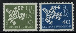 Europa-CEPT // Allemagne // 1961 Timbres Neufs** - Europa-CEPT