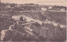CPA - 2. THIERS Le Pont St Roch Et La Ville - Thiers