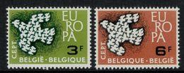 Europa-CEPT // Belgique // 1961 Timbres Neufs** - Europa-CEPT