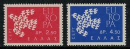 Europa-CEPT // Grèce // 1961 Timbres Neufs** - Europa-CEPT