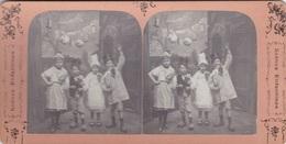 Stereofoto (photo Stéréo) -Scenes Enfantines 1- - Stereoscoop