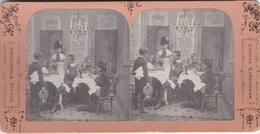 Stereofoto (photo Stéréo) -Scenes Enfantines 2- - Stereoscoop