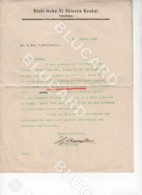 29627 CHINA 1942 LETTER WITHOUT ENVELOPE FROM JAPANESE NICHI DOKU YI SHINZEN KYOKAI IN TIENTSIN - Documenti Storici