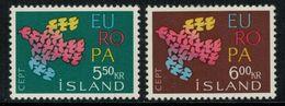 Europa-CEPT // Island // 1961 Timbres Neufs** - Europa-CEPT