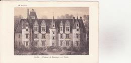 CPA - SARTHE - Château De BENEHART - France