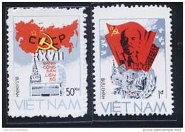 Vietnam Viet Nam MNH Perf Stamps 1986 : 27th Congress Of USSR's Communist Party / Lenin (Ms486) - Vietnam