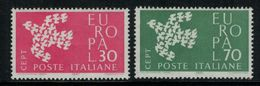 Europa-CEPT // Italie // 1961 Timbres Neufs** - Europa-CEPT