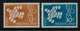 Europa-CEPT // Pays-Bas // 1961 Timbres Neufs** - Europa-CEPT