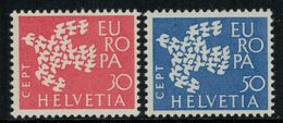 Europa-CEPT // Suisse // 1961 Timbres Neufs** - Europa-CEPT