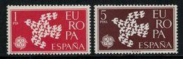 Europa-CEPT // Espagne // 1961 Timbres Neufs** - Europa-CEPT