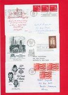 3 Plis En 1° Jour (Etats  Unis ) Thème Divers - Stamps