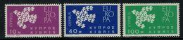 Europa-CEPT // Chypre // 1961 Timbres Neufs** - Europa-CEPT