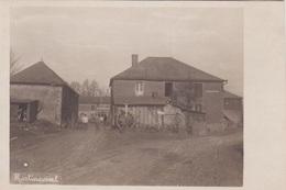 Alte Ansichtskarte Aus Martincourt -deutsche Soldaten Vor Der Kommandantur - France