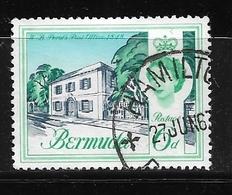 BERMUDA    1962 Definitive Issue  QUEEN ELIZABETH II 174 USED NICE CANCELL - Bermuda