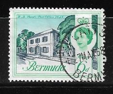 BERMUDA    1962 Definitive Issue  QUEEN ELIZABETH II  USED NICE CANCEL - Bermuda