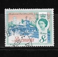 BERMUDA    1962 Definitive Issue  QUEEN ELIZABETH II  USED   Teh General Post Office 1869 - Bermuda