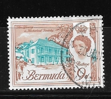BERMUDA    1962 Definitive Issue  QUEEN ELIZABETH II Used The Library And Historial Society - Bermuda