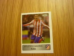 Koke Atletico Madrid Spanish Football Europe's Champions 2013-2014 Greek Sticker - Adesivi