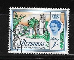 BERMUDA    1962 Definitive Issue  QUEEN ELIZABETH II  Used Church 1719 - Bermuda