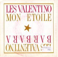 """LES VALENTINO """" BARBARA (remix) - MON ETOILE"""" 45 TOURS DISQUE VINYL - Vinyles"""