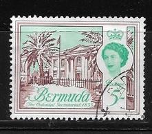 BERMUDA    1962 Definitive Issue  QUEEN ELIZABETH II   USED - Bermuda