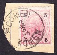 AUSTRIA , Used Stamp. SLOVENIAN CANCEL - COMEN ( KOMEN ). Condition, See The Scans. - 1850-1918 Empire