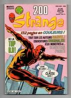 Strange N°200 Division Alpha - L'araignée - Daredevil -en Planeur Vers Mars - Cahier Spécial N°200 De 1986 - Strange