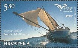 HR 2015-1196 EUROMED, HRVATSKA-CROATIA, 1 X 1v, MNH - Croatie