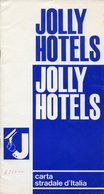 CARTA STRADALE D'ITALIA Scala 1:1.250.000, JOLLY HOTELS, 1966 - OTTIMA P53 - Carte Stradali