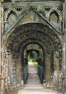 1 AK England * Glastonbury Abbey - Ruine Der Ehemaligen Abtei Der Benediktiner - Grafschaft Somerset - Autres