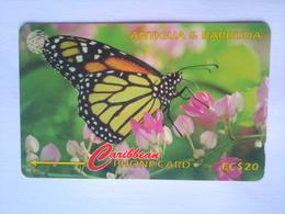 132CATC The Monarch $EC$20 (slash In Control Number) - Antigua And Barbuda