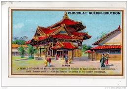 CHROMO . CHOCOLAT GUÉRIN-BOUTRON . JAPON . LE TEMPLE OCTOGONE DE KYOTO - Réf. N°14938 -- - Guerin Boutron