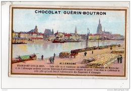 CHROMO . CHOCOLAT GUÉRIN-BOUTRON . ALLEMAGNE . FRANCFORT SUR LE MEIN - Réf. N°14939 - - Guerin Boutron