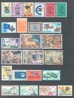 BELGIUM - 1979 - MNH/***LUXE -  JAAR ANNEE YEAR 1979 COMPLETE -ALL BLOC AND TYPES OF PAPER QUOTATION 43.25 EUR-Lot 17859 - Belgique