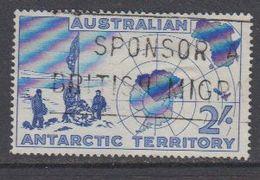 AAT 1957 Erforschung Der Antarktis 1v Used (40783) - Australisch Antarctisch Territorium (AAT)