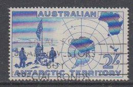 AAT 1957 Erforschung Der Antarktis 1v Used (40783A) - Australisch Antarctisch Territorium (AAT)