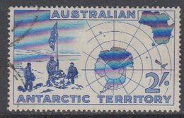 AAT 1957 Erforschung Der Antarktis 1v Used (40783C) - Australisch Antarctisch Territorium (AAT)