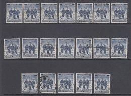 AAT 1961 Definitive / Antarctic Explorers 1v Used 19x  (40783A) - Australisch Antarctisch Territorium (AAT)