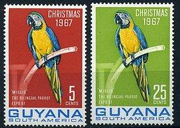 Guyane ** N°  258/259 - 280/281 - Perroquets - Guyane (1966-...)