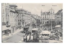 (21199-00) Suisse - Basel - Marktplatz - BS Bâle-Ville
