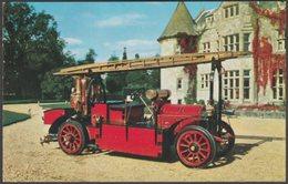 1907 Gobron-Brillie Fire Engine At Beaulieu, Hampshire, C.1960s - Salmon Postcard - Trucks, Vans &  Lorries