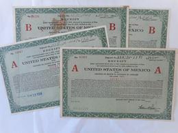 LOT De 4 UNITED STATES Of MEXICO  1924 - Autres